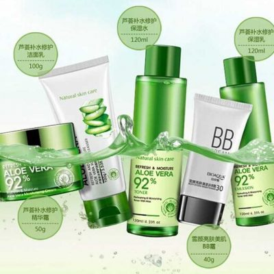 BIOAQUA Aloe Vera Beauty Care Skin Whitening Set-5